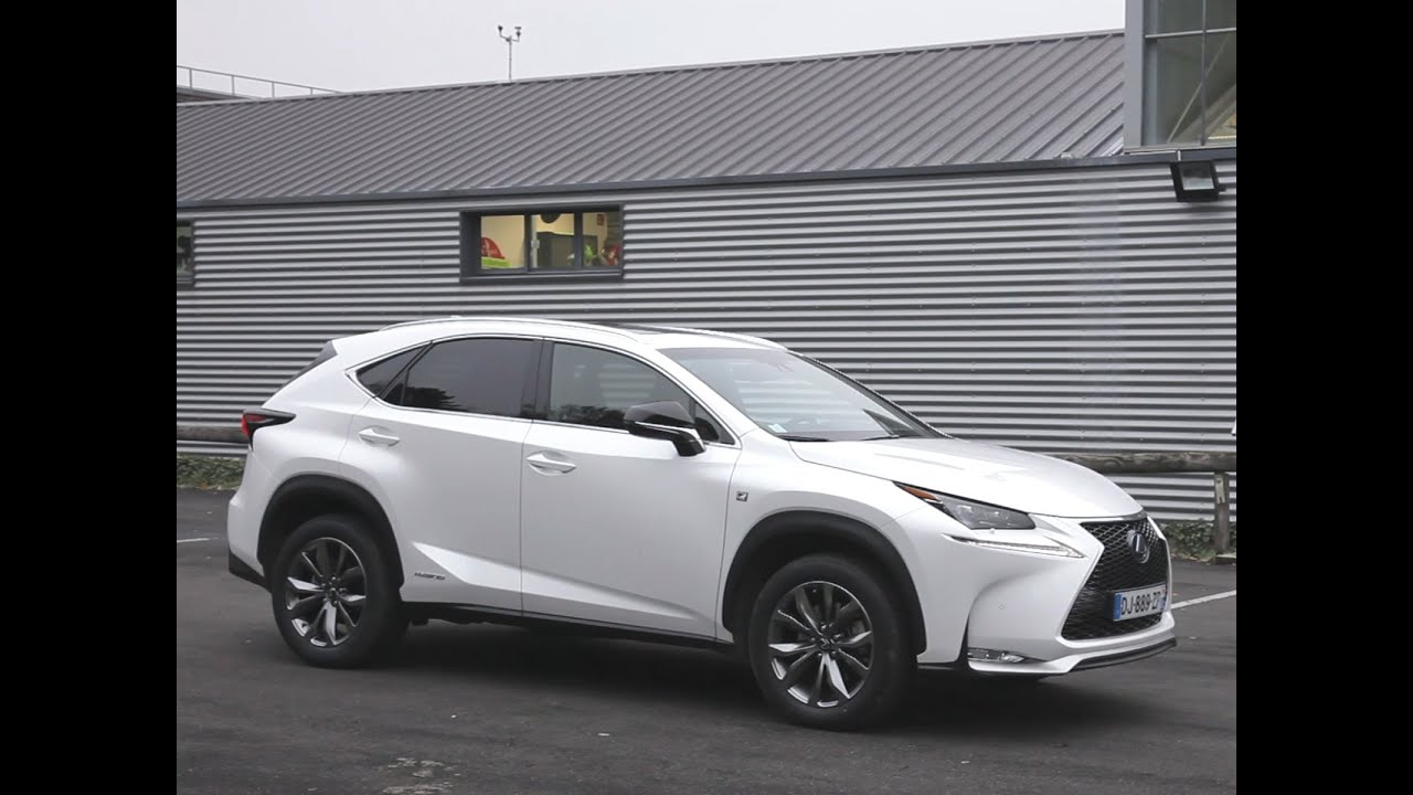 essai lexus nx 300h sport 2014 youtube. Black Bedroom Furniture Sets. Home Design Ideas