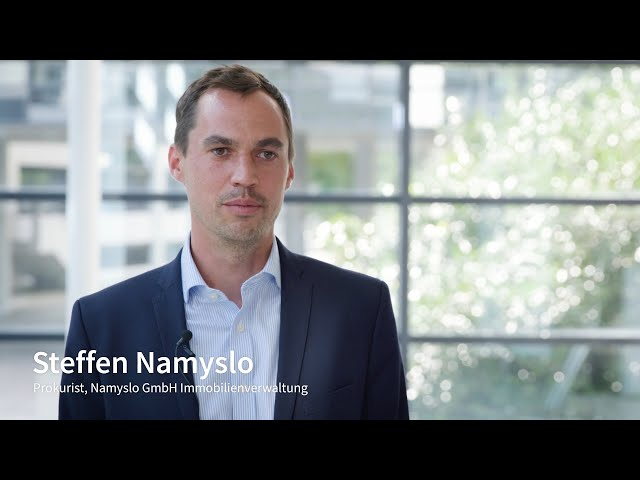 Was schätzt der Hausverwalter Namyslo GmbH an der offene Plattform von facilioo?
