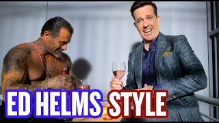Ed Helms Gets Arrested By The Fashion Police