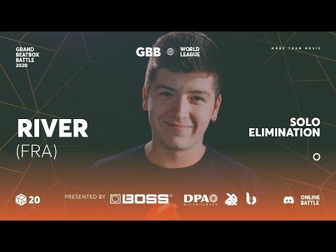 River   Grand Beatbox Battle Online 2020   Solo Elimination #14