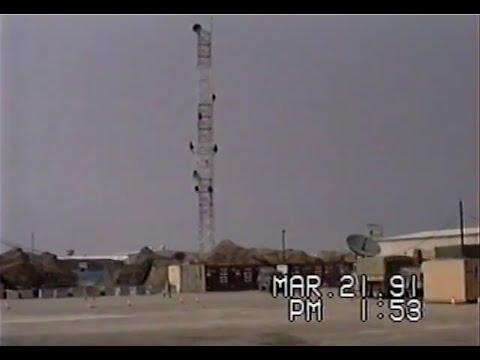 11th Signal Brigade's Camp Thunderbird March 1991 Desert Storm