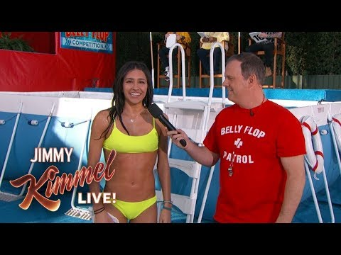 13th Annual Jimmy Kimmel Live Belly Flop Competition