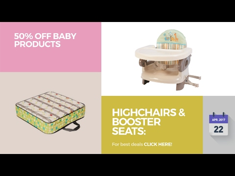 Highchairs & Booster Seats: Accessories 50% Off Baby Products
