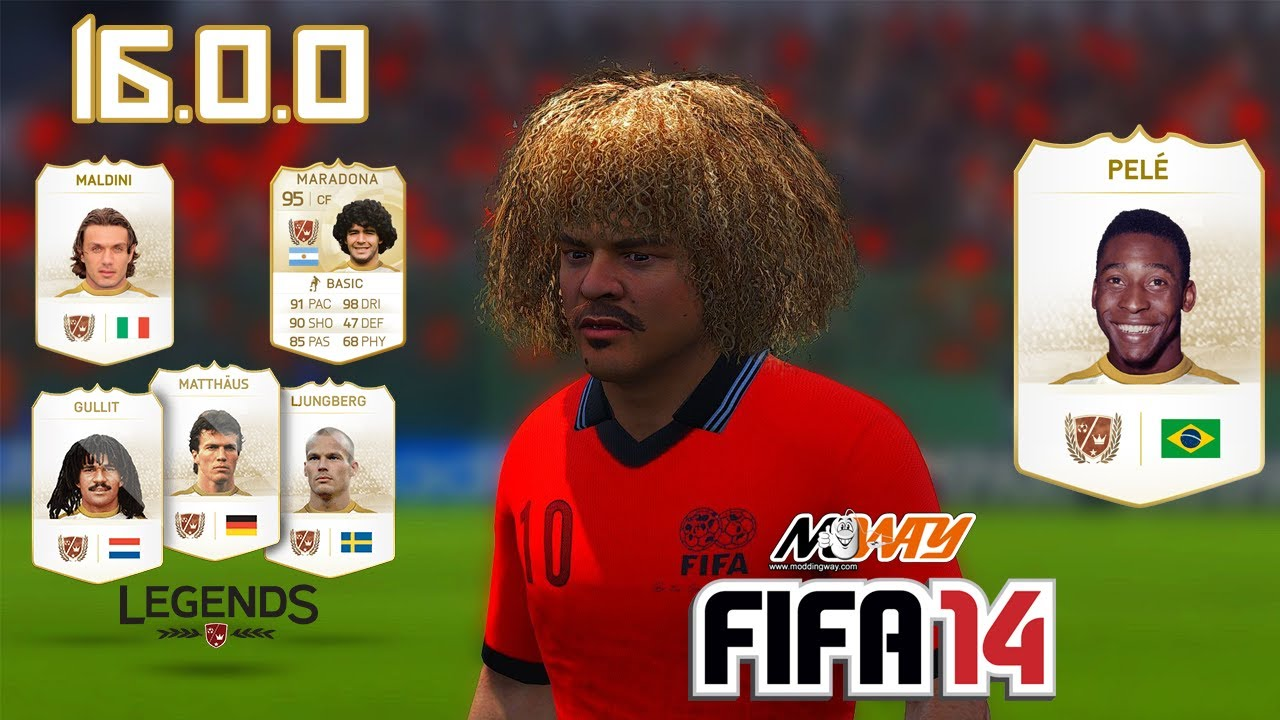 FIFA 14 To FIFA 18┃MODDINGWAY Patch 16 0 0 (CLASSIC LEGENDS) #10