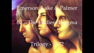 Emerson, Lake & Palmer - The Endless Enigma 2 - Audio Lyrics