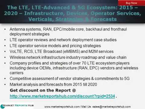 The LTE, LTE-Advanced Market & 5G Ecosystem Global Mobile Telecommunication Analysis
