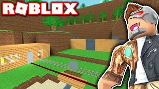 MINECRAFT in FLOOD ESCAPE 2?! (Roblox)