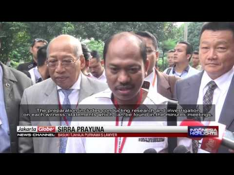 Basuki Tjahaja Purnama's Legal Defense Team Prepares For 4th Trial