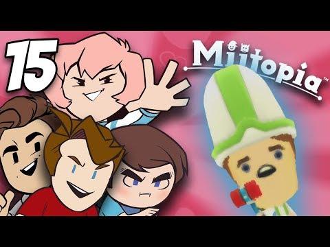 Miitopia: Onward Ho! - PART 15 - Grumpcade (ft. Jimmy Whetzel, Commander Holly, & Matt)