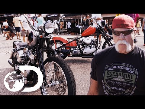 Paul Sr. Unveils The Senior Series! | American Chopper
