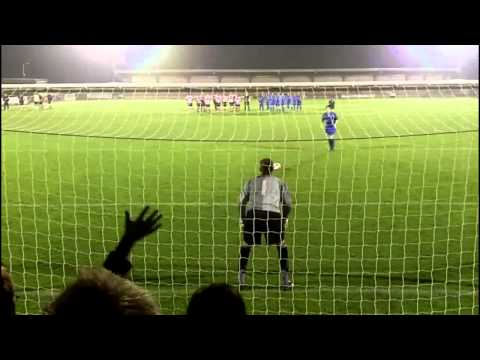 Kingstonian v Margate penalty shootout