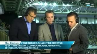 Fenerbahçe - Shakhtar Donetsk Maçı Öncesi Şükrü Saraçoğlu Stadı'ndan Görüntül