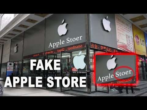 Inside Fake CHINESE Apple Store!! *MUST SEE*