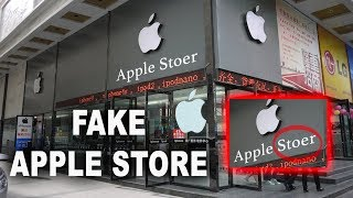 Gambar cover Inside FAKE CHINESE APPLE STORE!! *MUST SEE*