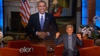 President Obama Appears on 'Ellen DeGeneres Show'