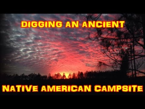 Arrowhead Hunting - Digging An Ancient Native American Campsite