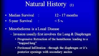 ICD 9 Code for Malignant Peritoneal Mesothelioma, diffuse malignant pleural mesothelioma I