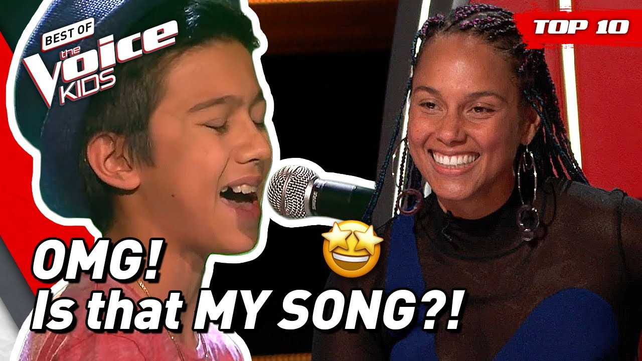 Download TOP 10 | Beautiful ALICIA KEYS songs covered in The Voice Kids!