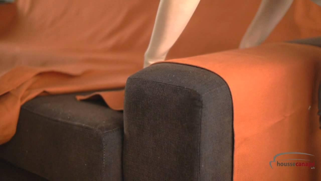 Housse De Canape Pour Mobil Home housse réversible pour un canapé d'angle