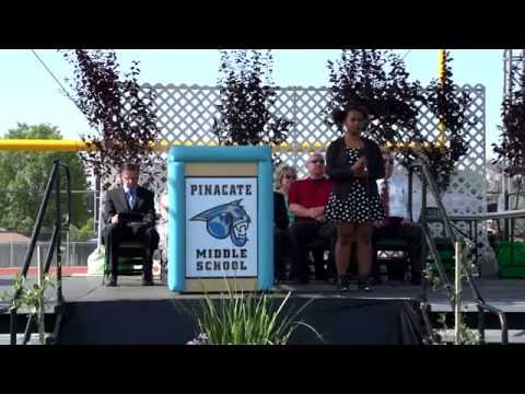 Pinacate Middle School 2015 Graduation Ceremony HD