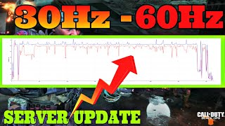 BLACK OPS 4: SERVERS INCREASE FROM 30Hz to 64Hz | BLACK OPS 4 SERVERS RUNNING AT 64Hz (Black Ops 4)