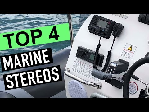 BEST 4: Top Marine Stereos 2019