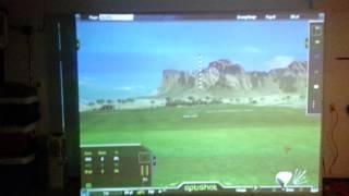 Home golf simulator