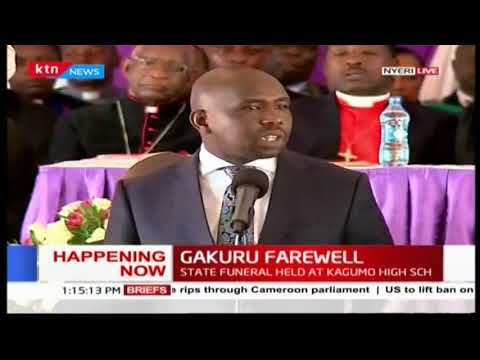 Senator Kipchumba Murkomen challenges the nation to be united as one tribe hints DP Ruto's 2022 plan