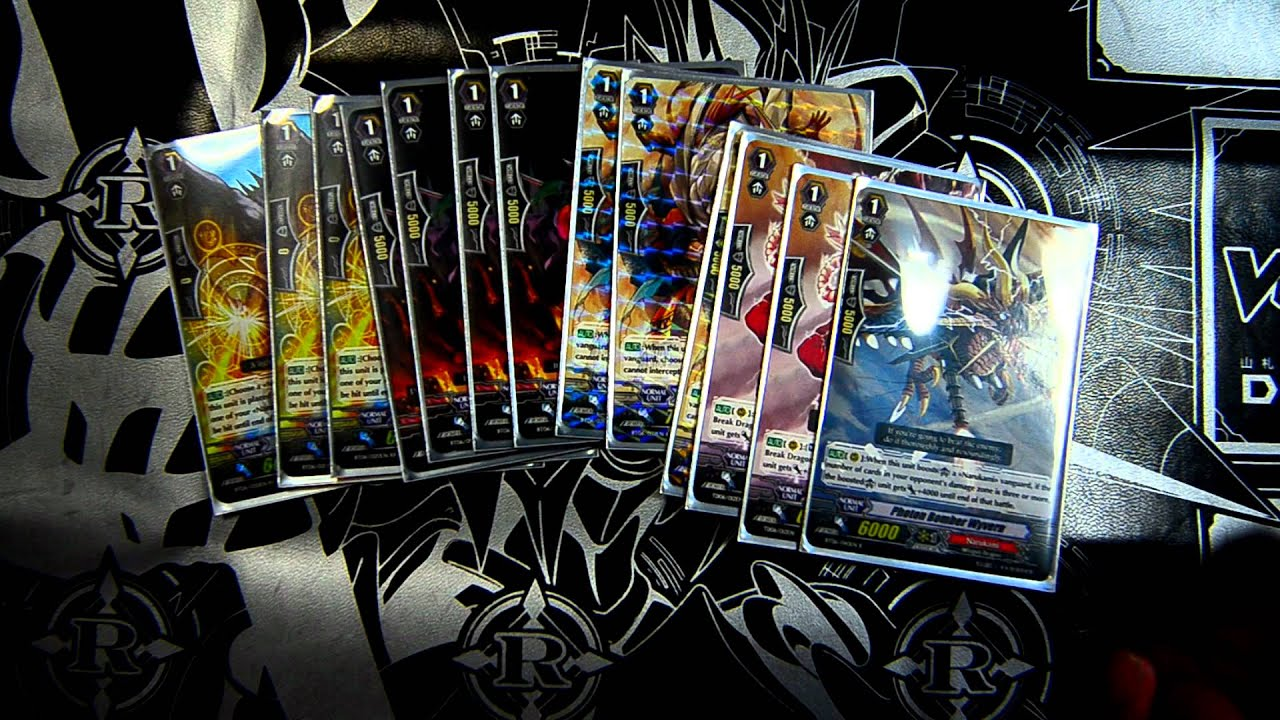 How To Build A Cardfight Vanguard Deck