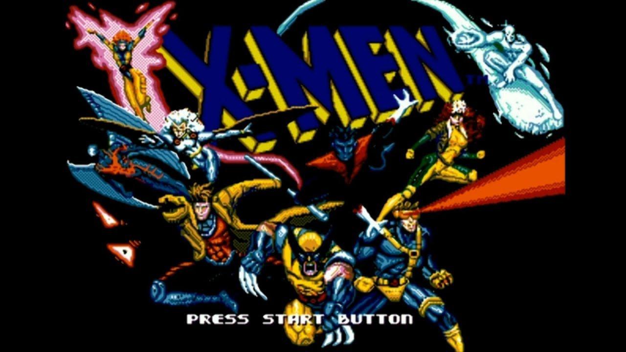 X Men Sega Genesis Walkthrough Youtube