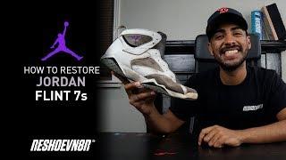 Vick Almighty Restores Air Jordan Flint 7 with Reshoevn8r!