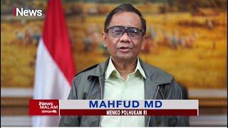 Menkopolhukam Mahfud MD Kutuk Keras Pelaku Kekerasan Terhadap Pemuka Agama #iNewsMalam 28/09