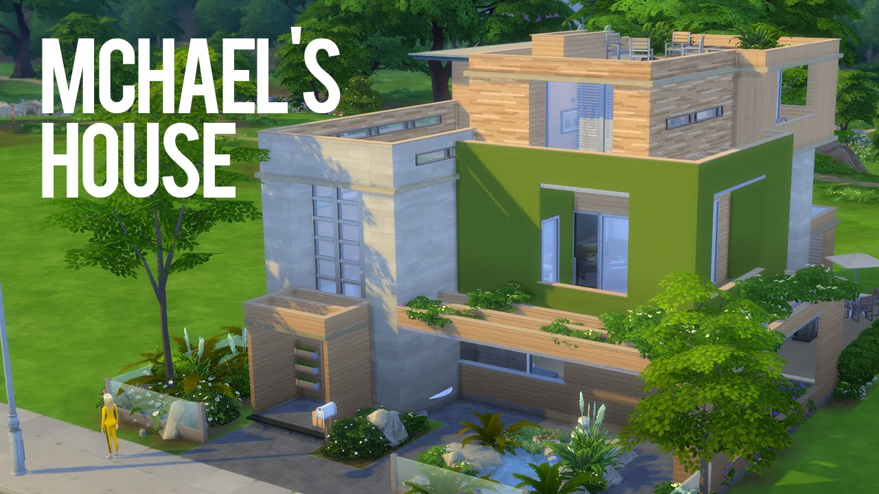 The Sims 4 Speed Build U2014 Mchaelu0027s House U2014 Part 1   YouTube