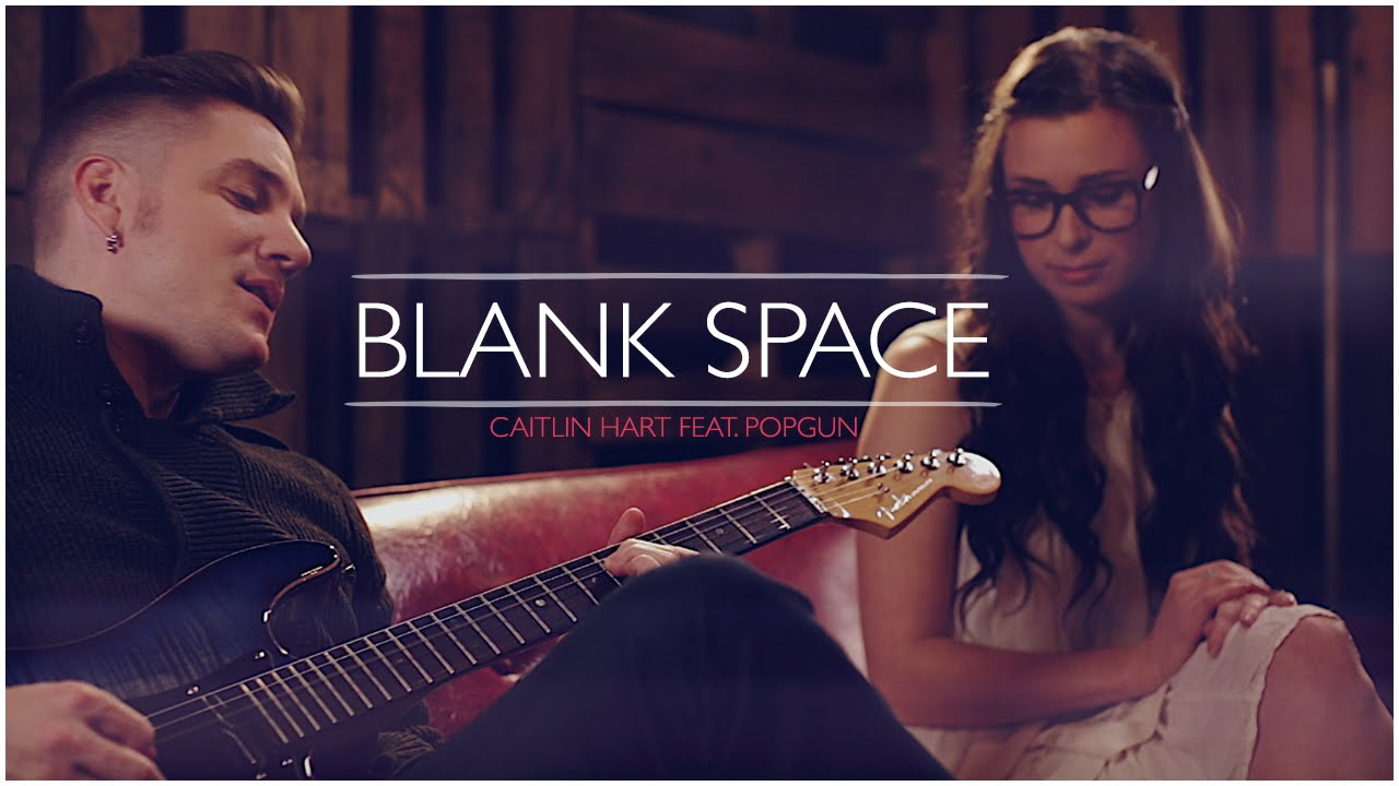 Taylor Swift - Blank Space (Official Music Video) - Cover by Caitlin Hart ft. PopGun