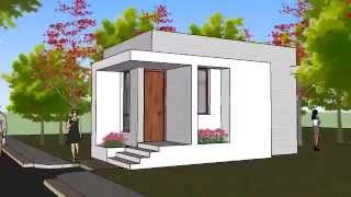 Small House Plan - SHP 1012
