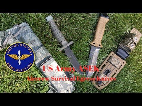 US Army ASEK Aircrew Survival Egress Knives