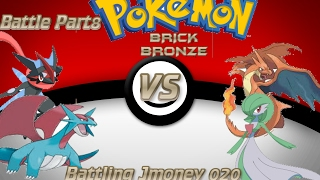 Roblox Pokemon Brick Bronze|Battle Part 8|Battling Jmoney 020||MOST EPIC SWEEP EVER