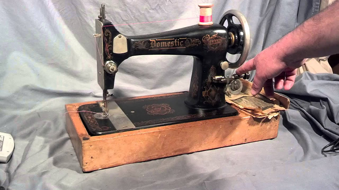 Lookup A Number >> Serviced Antique Domestic Vibrator (Franklin) ( Singer 27 ...