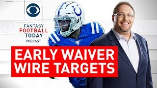 Top WAIVER WIRE Targets, Pickups for Week 10 | 2019 Fantasy Football Advice