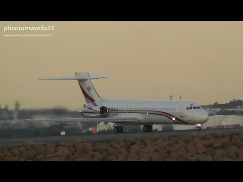 RARE Kingdom of Swaziland MD-87 | Take Off 34L | Sydney Airport