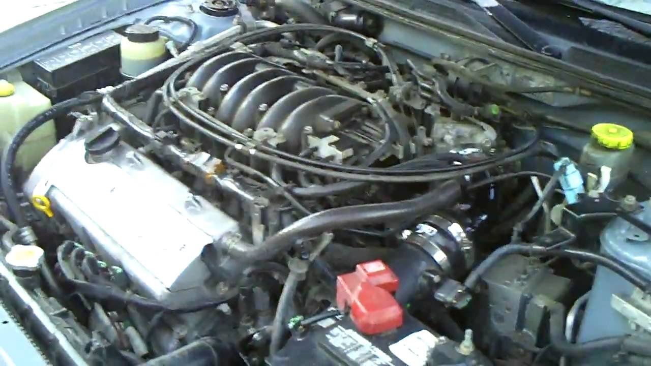 2001 Nissan Maxima Engine Clip With Injen Cai Youtube