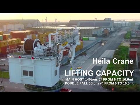 Active Heave Compensation – Bosch Rexroth For Heila Crane HR4070 [en]