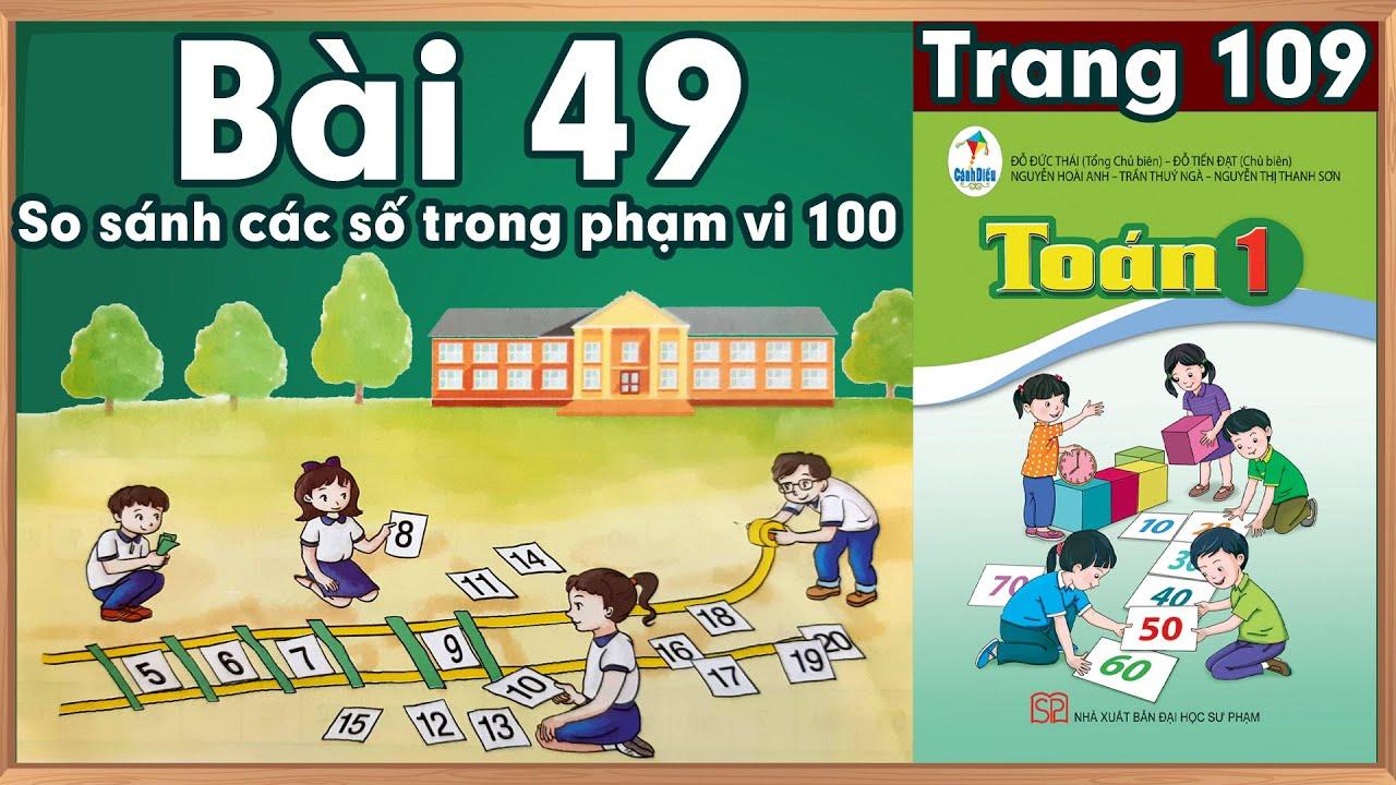 Học toán lớp 1 Toán lớp 1 sách cánh diều bài 49  học toán  lớp 1 trực tuyến