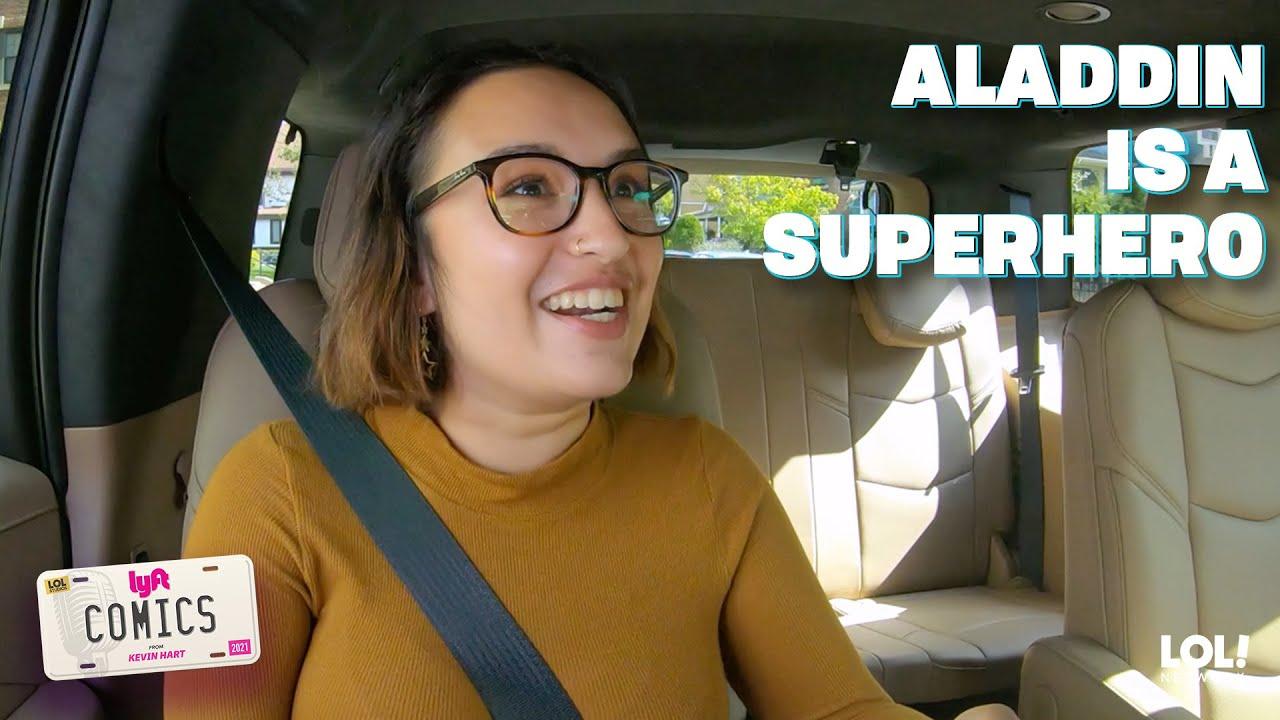 12 Minutes of Backseat Laughter | Lyft Comics (Eps. 9)