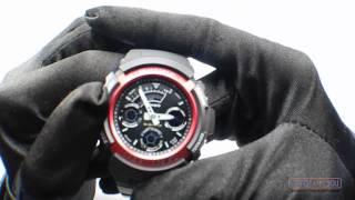 спортивные часы casio g shock aw 591 4aer