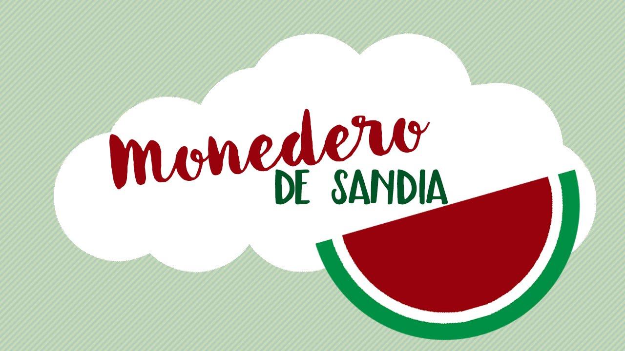 ☆ Tutorial DIY - Monedero de Sandia ☆ - YouTube