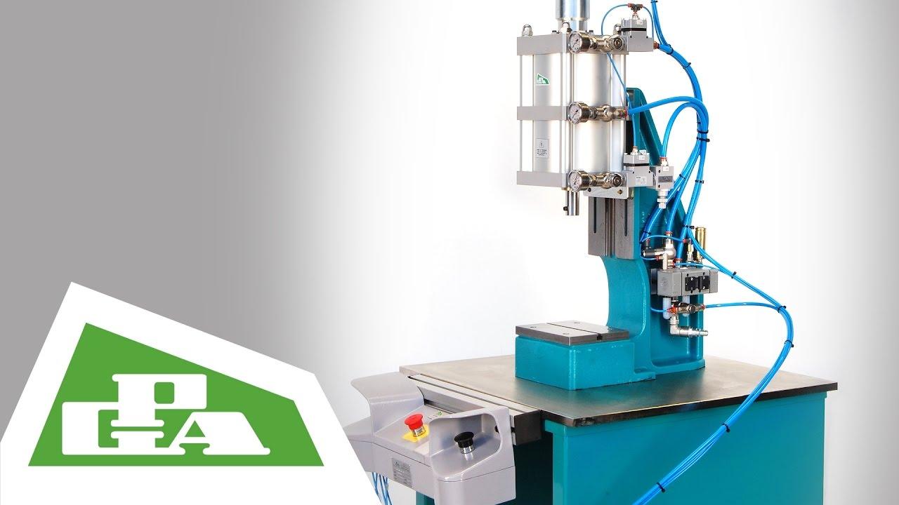 Pressa pneumatica da banco kn 22 8 pneumatic bench press for Presse idrauliche usate per officina