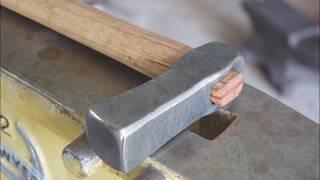 Forging a Japanese inspired bladesmithing hammer