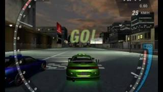 Need for speed underground 2 Bryan's eclipse from fast and furious