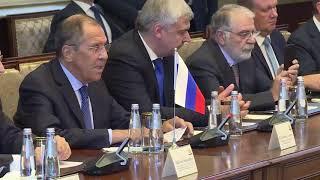С.Лавров и М.Барзани, Эрбиль, 7 октября 2019 года